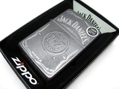Zippo Full Size Gray Dusk Jack Daniel's Old No. 7 Windproof Lighter 29150