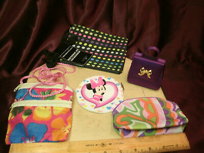 5 little girls purses-Minnie mouse/clinique/cloth-girls accessories-free ship