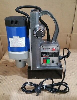 240v Commercial Magnetic Drill Electric Electro-Mag Base Chuck Power