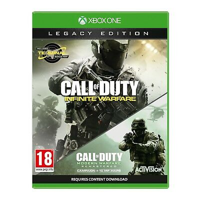 Call Of Duty Infinite Warfare Legacy Edition Xbox One Game