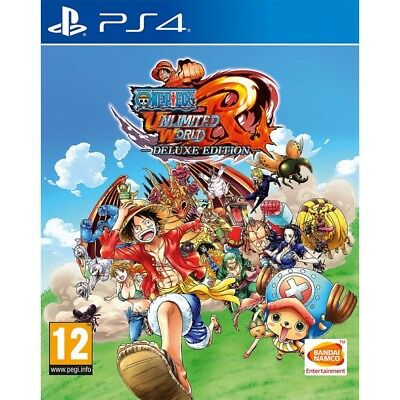 One Piece Unlimited World Red Deluxe Edition PS4 Game