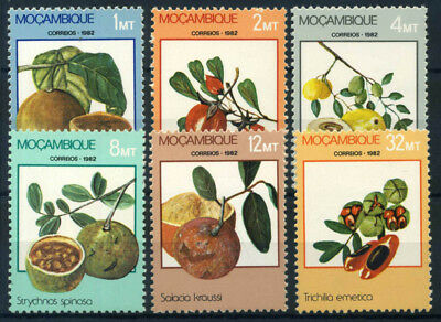 Mozambique 1982 Mi. 894-899 MNH 80% Fruit