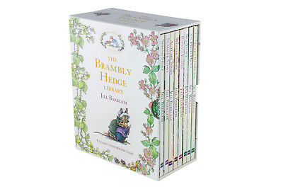 The Brambly Hedge Library 8 Books Collection By Jill Barklem