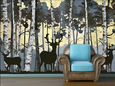 A39 Custom Made European TV Background Bedroom LIving Room Mural Wallpaper Q