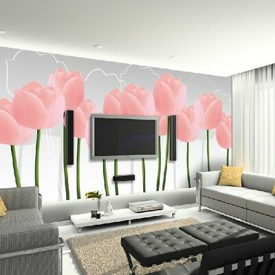 A306 Custom Made European TV Background Bedroom LIving Room Mural Wallpaper Q