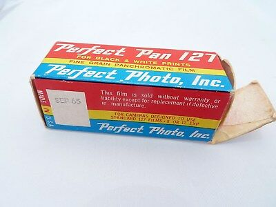 Vintage Perfect Pan 127 black and white film