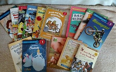 Lot of 14 Children's Books Step into Reading I Can Read Level 1 2 3