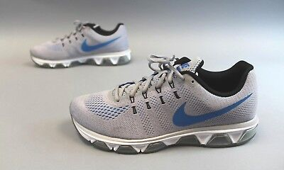 3fbfd53f074 Nike Men s Air Max Tailwind 8 Running Shoes GG8 Grey Blue 805941-014 Size