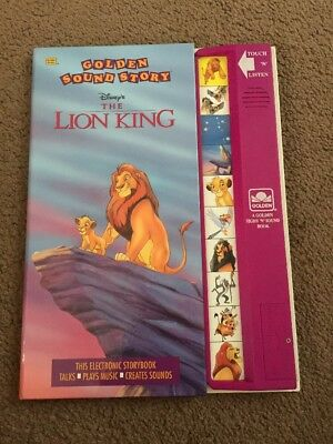 Golden Sound Story Disney The Lion King
