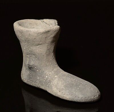 Ancient Near Eastern Scarce Votive Boot -  Hittite Empire