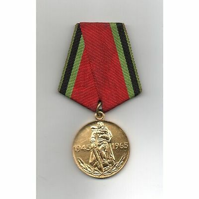 Russia (USSR) Medal 20 Years of Victory in the WWII