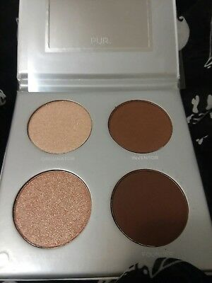 new pur sculptor palette msrp $30.00 4 shade 2 highlighters 2 matte contours
