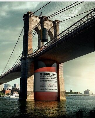 Brooklyn Bridge Widow Jane Bourbon Poster 24 By 36