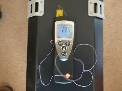 testo 922 thermometer dual channel