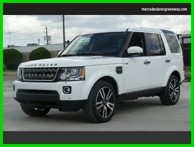 Land Rover LR4 HSE 2015 HSE Used 3L V6 24V Automatic Four Wheel Drive SUV Moonroof Premium