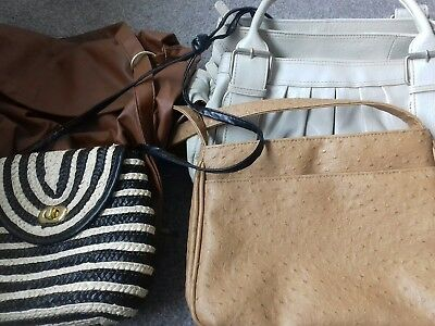 Job Lot various womans Handbags