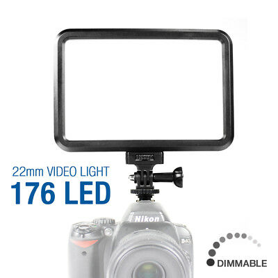 Professional Photography Thin 176 LED Studio Video Light Panel Camera Photo
