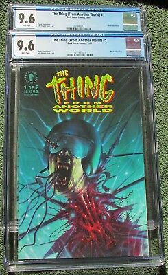 THE THING From Another World  #1 CGC 9.6 & 9.6 - Lot of (2) - Movie Adaptation