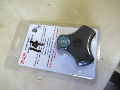 High-Lift   Versitile Locking Knob - With 2 Keys - Secures Jack Against Theft