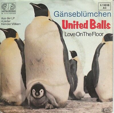 "7""-   United Balls = Gänseblümchen / Love On The Floor"