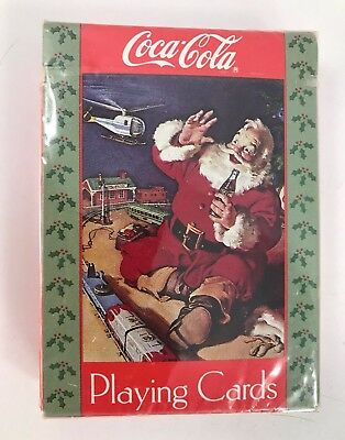 Vintage 1990'S Era New In Package Coca-Cola Playing Cards