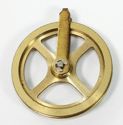 Brass Pulley For Clock Cable -1-3/4 Inch - Ll54