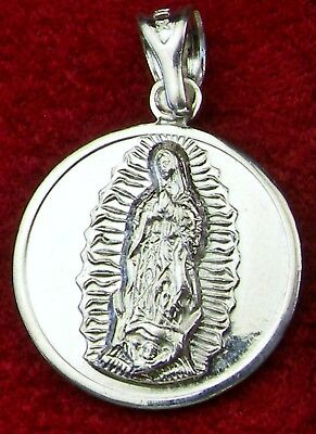 New Sterling Pope Francis O.L. of Guadalupe Shrine Pilgrimage TWO Sided Medal