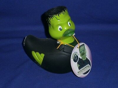 Vintage Duckenstein Rubber Duck by Rubba Duck. Dated 2003. With hang Tag 5in
