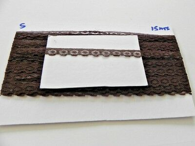 Card of New Lace - Dark Chocolate