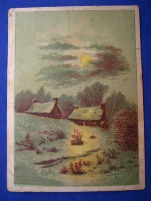 TH Van Horn Drug Medicines and Groceries Lockport Trade Card