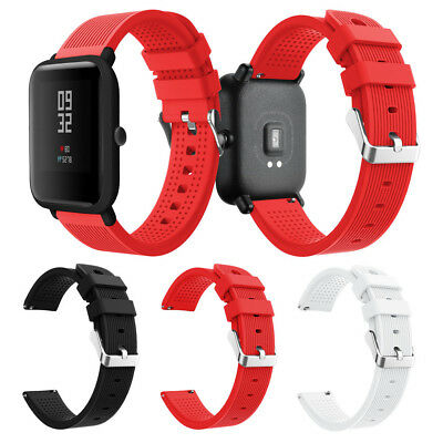 Soft Silicon Watch Band Wirstband Replacemen Strap Bracele For Huami Amazfit Bip