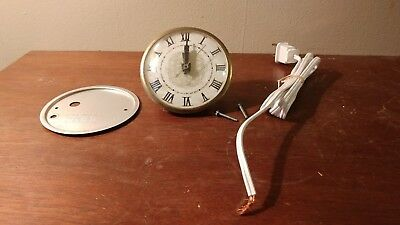 Vintage Lanshire Electric Clock Movement Xl7 New Old Stock Roman Numeral