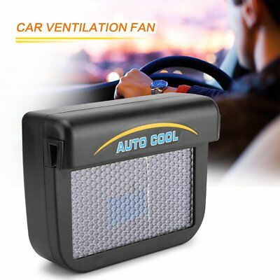 Solar Powered Car Air Vent Cool Fan Auto Cooler Ventilation System Exhaust Fan