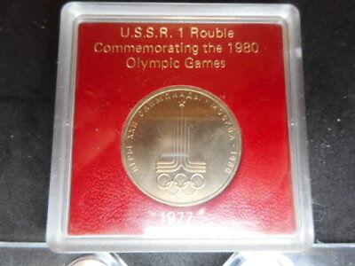 Russia Rouble, 1977, 1980 Olympics