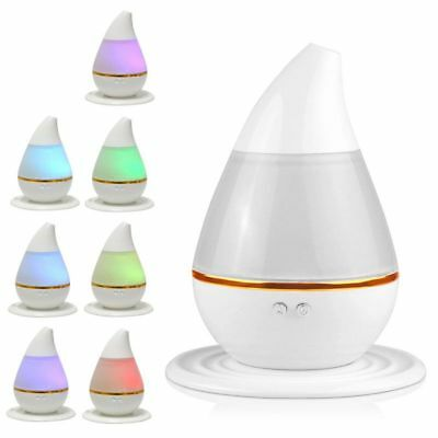 LED Essential Diffuser Oil Ultrasonic Humidifier Air Aroma Aromatherapy