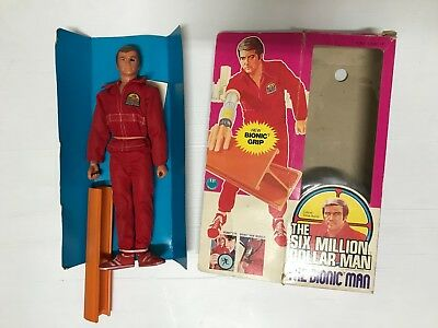 The Six Million Dollar Man The Bionic Man 1977, New Bionic Grip, By Kenner