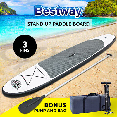 Bestway 3.1M Inflatable SUP Stand Up Paddle Board Surfboard With Pump