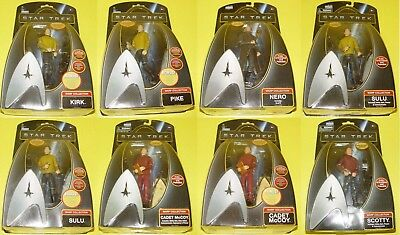 Star Trek Playmates  Warp Collection Figuren zum aussuchen (mit Lagerspuren)