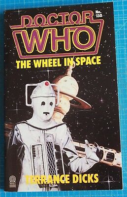 DOCTOR WHO; The Wheel in Space. #130; Terrance Dicks. {unread paperback}