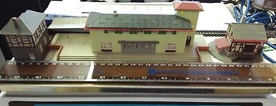 Fuller N Scale Passenger Station German Engineering 60s Vintage and *RARE*.