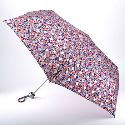 Cath Kidston Minilite Ladies Folding Umbrella - Ditsy Button Spot