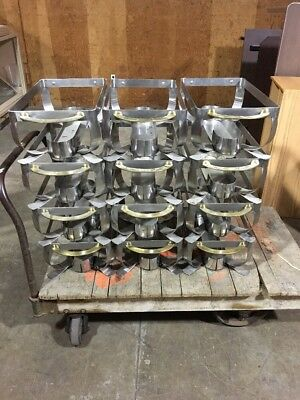 Lot of Twelve Industrial Chafing Dishes Frames, PSU