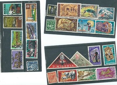Nigeria  Used Stamp Collection