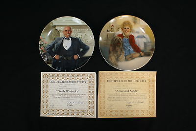 2! The Edwin M Knowles China Co. Collector's Plates (500)