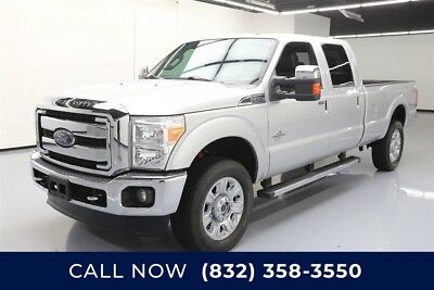 Ford F-350 4x4 Lariat 4dr Crew Cab 8 ft. LB SRW Pickup Texas Direct Auto 2016 4x4 Lariat 4dr Crew Cab 8 ft. LB SRW Pickup Used Turbo