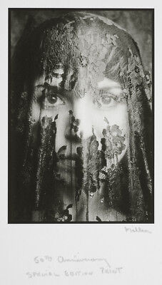 """Tom Millea Famous Portrait Under Lace 4""""x6"""" Photograph - Last One At This Price!"""