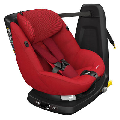 Brand New Maxi-Cosi AxissFix Group 1 Car Seat In Robin Red RRP £350