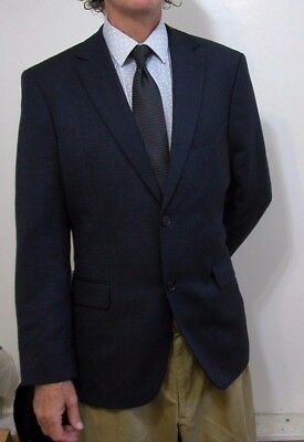 NEW w/ Tag Hugo Boss Modern 2btn Cashmere/Wool Blend Blazer Jacket 40 R Reg