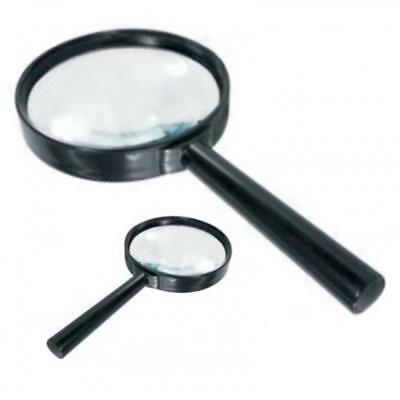 2 Pk Magnifying Glasses Magnifier Stamp Collecting Book Philately Gb World Loupe