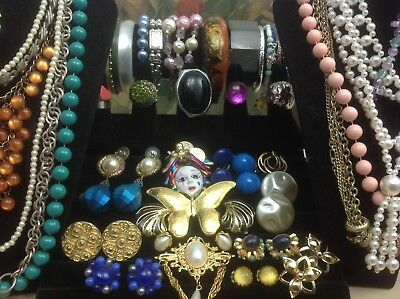 Large Lot Of Vintage~Retro Costume Jewelry Richelieu, Coventry, W.germany (E147)